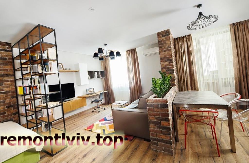 Ремонт однокімнатної квартири «під ключ»