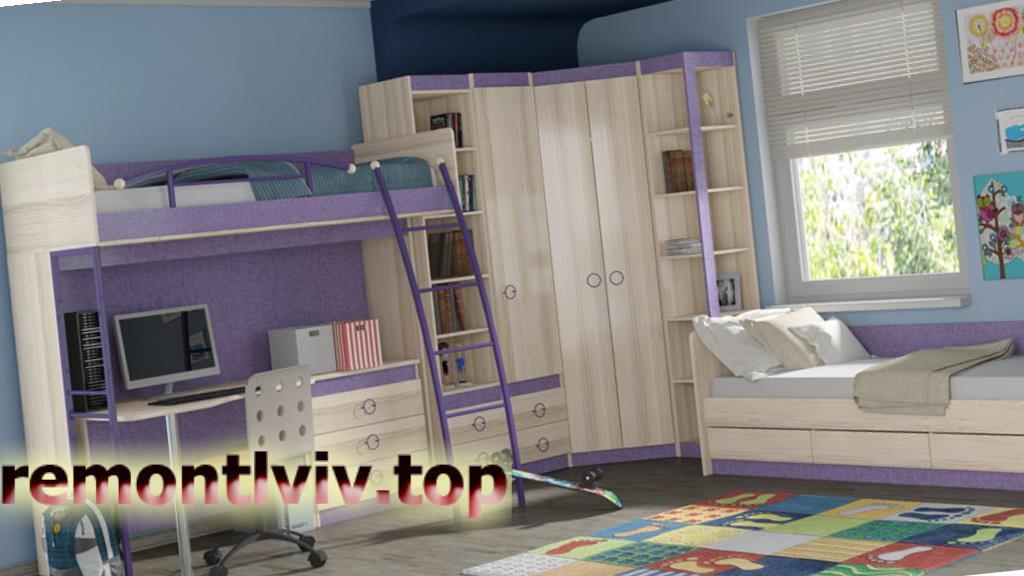 Особливості проектування дитячої кімнати: функціональний дизайн дитячої для хлопчика або дівчинки