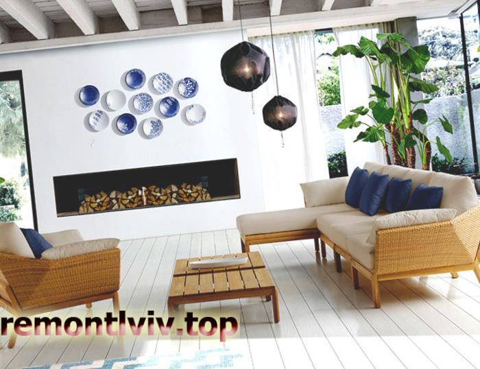 Екологічні меблі: плетені меблі з ротангу в сучасному інтер'єрі