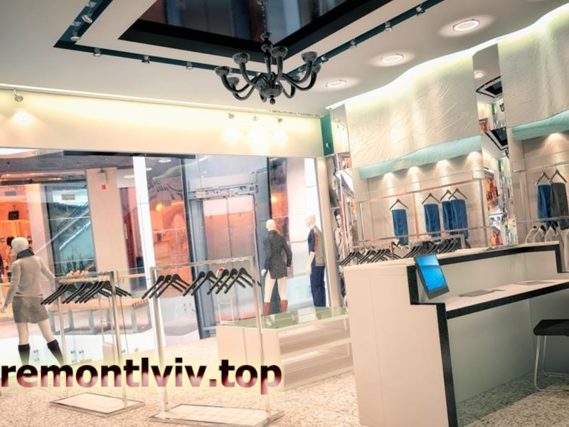 Дизайн інтер'єру магазину