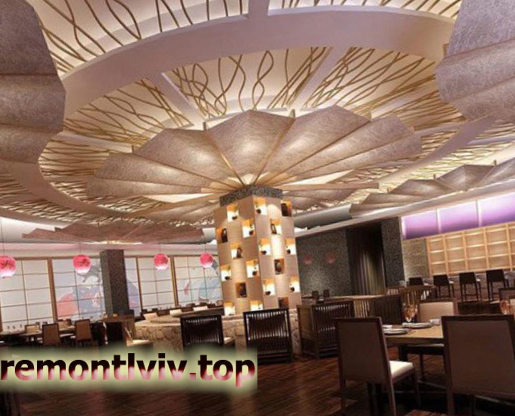Розробка дизайну інтер'єру ресторану