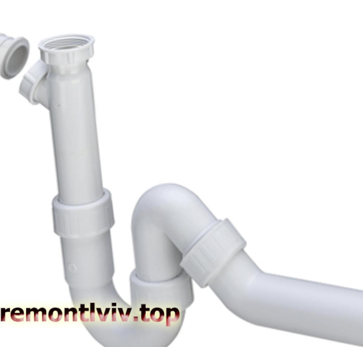 Підключення умивальника і мийки до каналізації