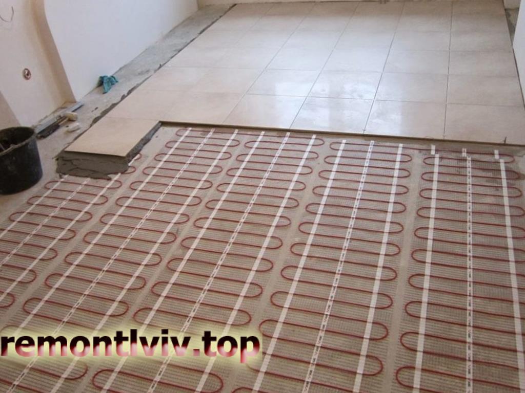 Електрична тепла підлога у Львові