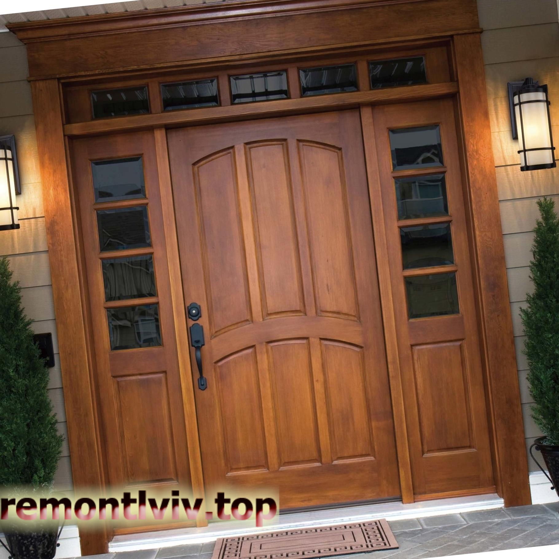 Монтаж вхідних дверей(дерев'яних та металевих) у Львові