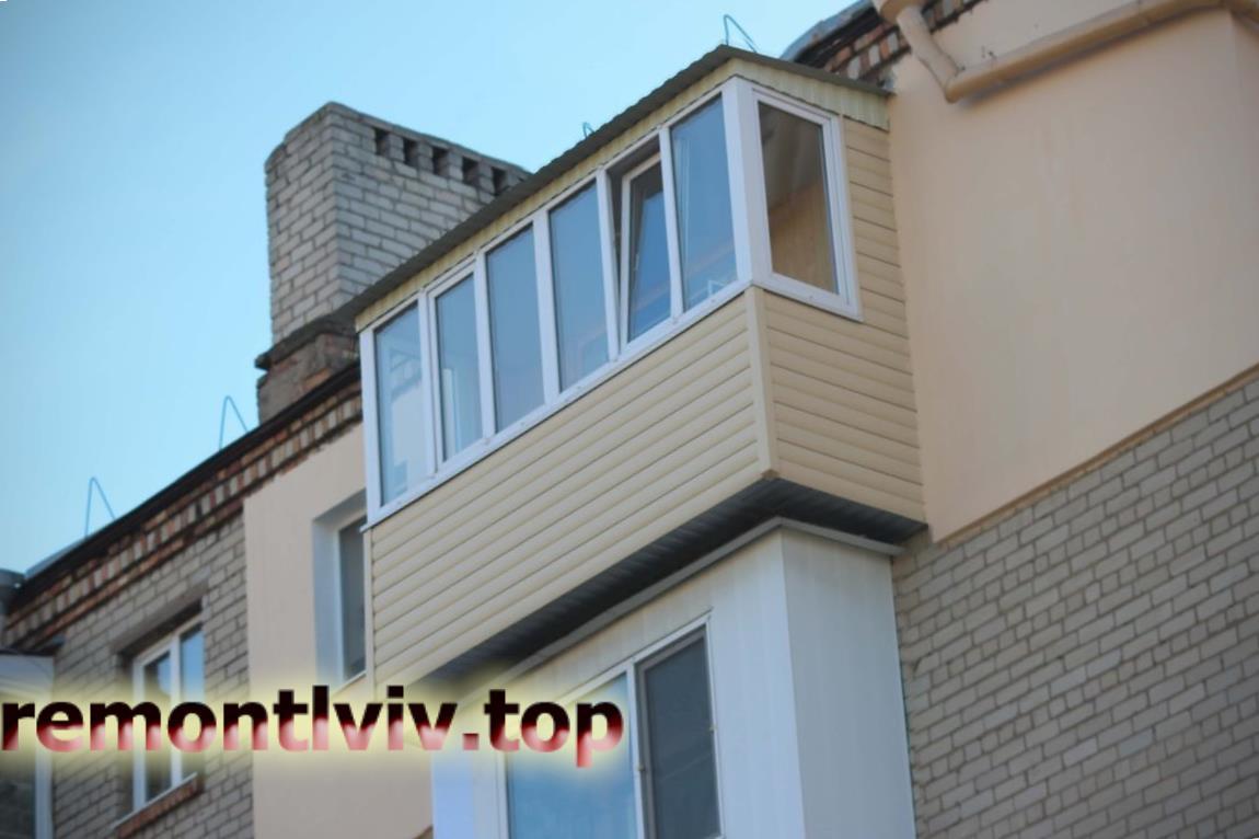 Ремонт балкону Львів